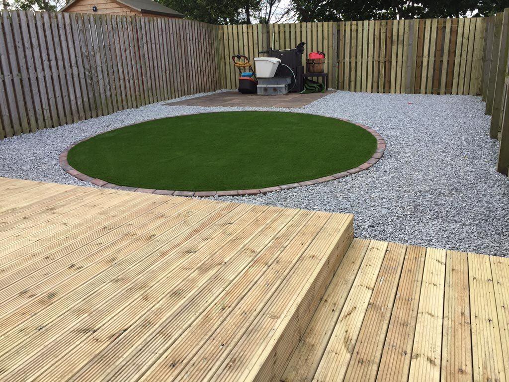 Decking / Artificial Grass-Edinburgh