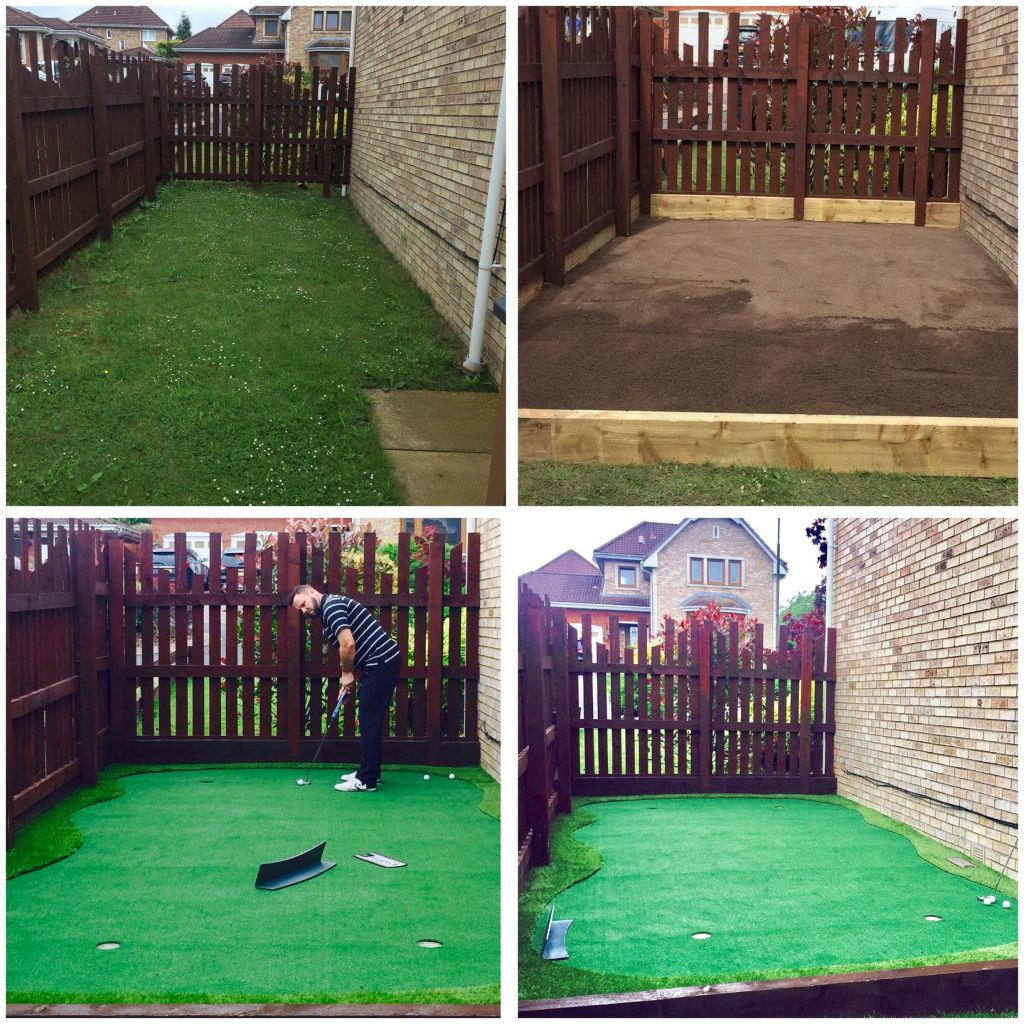 How Can You Install An Artificial Gr Putting Green In Your