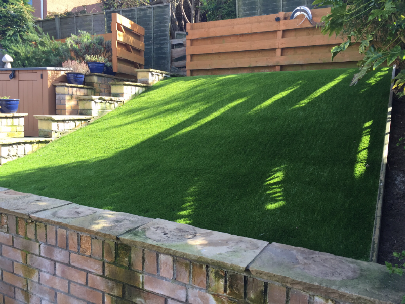 Can You Install Artificial Grass On Hills And Slopes
