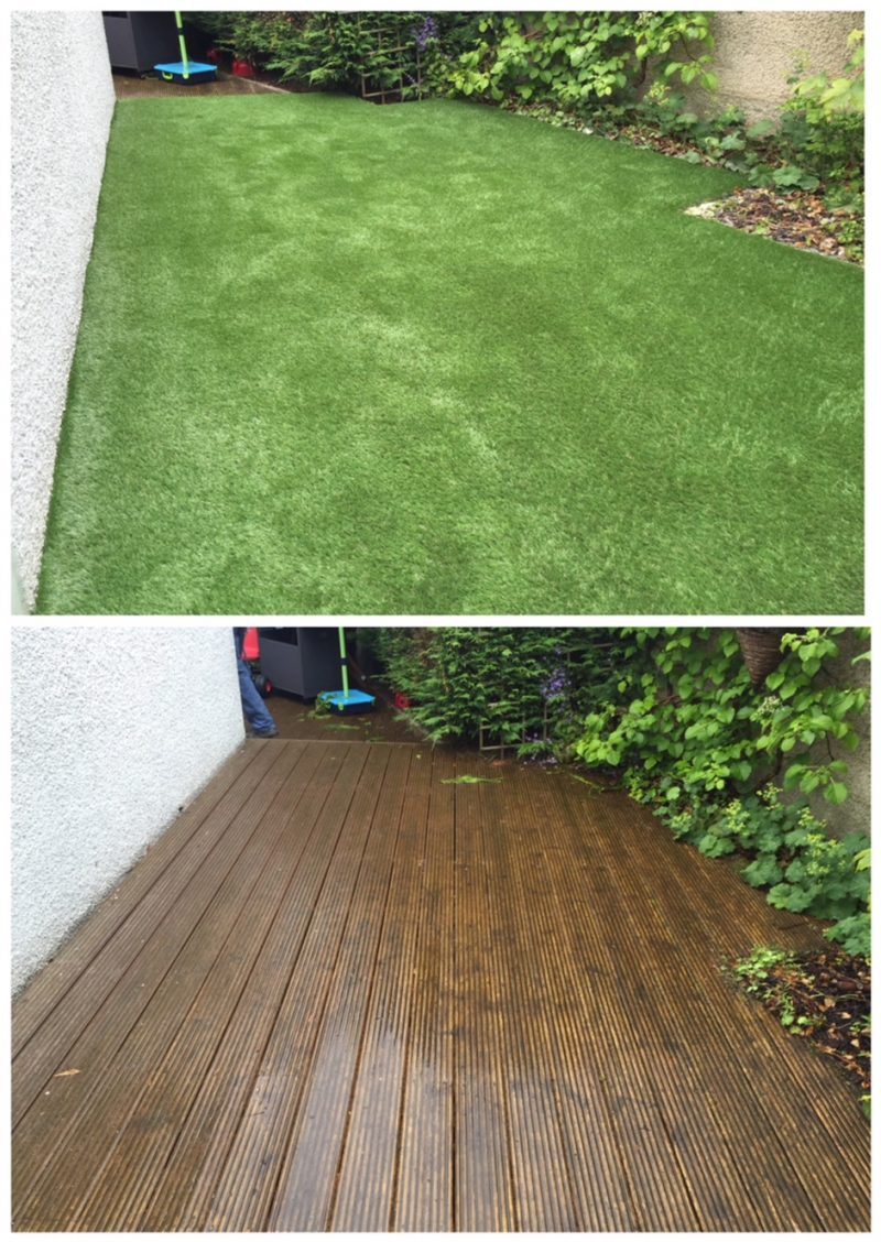 Can Artificial Gr Be Successfully Installed On Decking