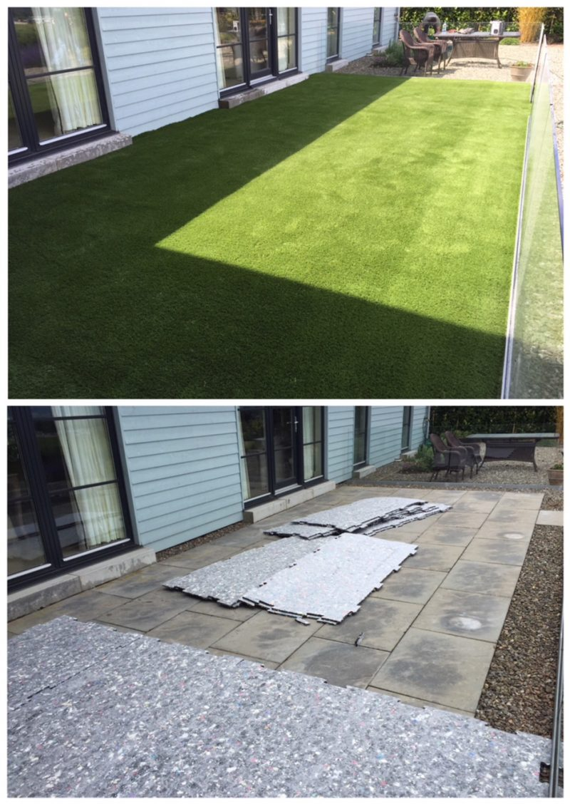Can Artificial Grass Be Successfully Installed On Concrete